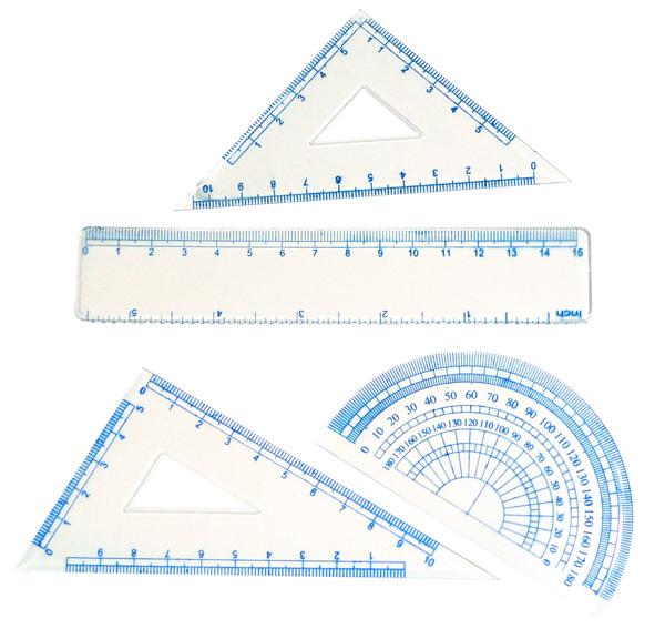 Plastic ruler TN-001